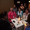 "Tenth Triennial Gathering | Friends from Region 4 share a laugh with Elizabeth McBride, Women of the ELCA staff, Elizabeth McBride during the ""Lounge""--the networking event for younger women at the gathering."