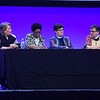 Tenth Triennial Gathering | A response panel followed Kelly Fryer's Bible study. Panelists from the left: Kelly Fryer, Judith Roberts, Director for Racial Justice Ministires, ELCA, Bishop Eaton and Bishop Patricia Lull.