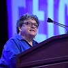 Tenth Triennial Gathering | Linda Post Bushkofsky opens the the first plenary session.