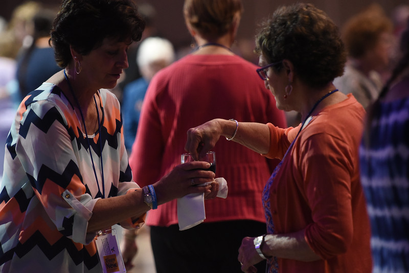 Tenth Triennial Gathering |   Holy communion, opening Thankoffering service.