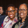 Tenth Triennial Gathering | Workshop presenter Rozella White and her mom, Diane White, Missouri City, Texas, attend opening worship.