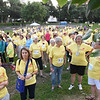 Tenth Triennial Gathering | Run, Walk and Roll participants meet at the start before the race.