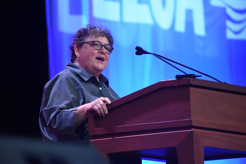 Tenth Triennial Gathering   Linda Post Bushkofsky, executive director, Women of the ELCA.