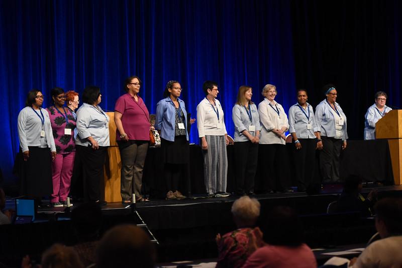 Tenth Triennial Convention |  Churchwide executive staff, Women of the ELCA.