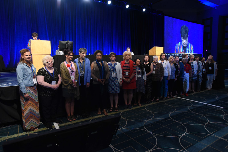 Tenth Triennial Convention | The 2017- 2020 executive board of Women of the ELCA.
