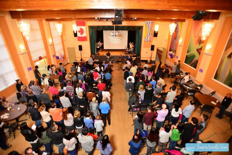 Tenth Church - East Van Launch