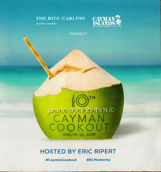 10th.Annual Cayman Cookout - 2018- Ritz Carlton -Grand Cayman Island