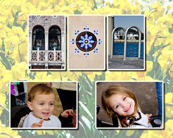 Mom Flowers 8x10 w photos