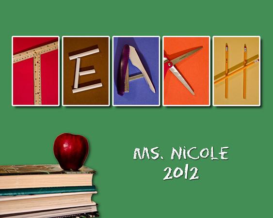 Teach 8x10