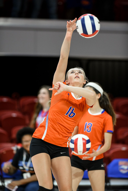 11-05-2016 State Championship Volleyball -Louisburg