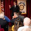 11 1 18 Lynn Jay Ash addresses Rotary
