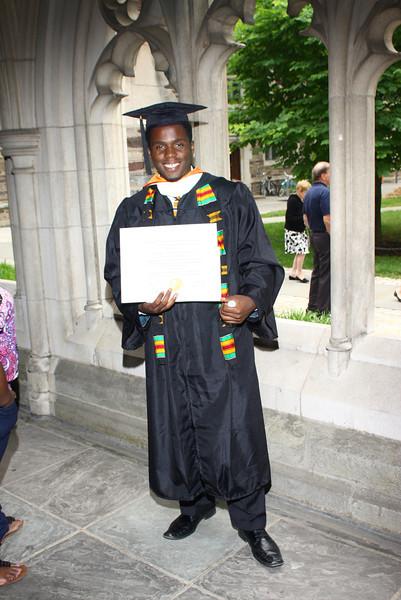 2012 Residential College Diploma Distribution: Rockefeller