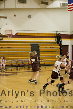 LPHT 8th Grade Girls vs NYA 12/11