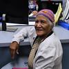 Lynn, Ma. 11-16-17. Guarina Mendez got fuel assistance from LEO staff member Petra Sanchez.