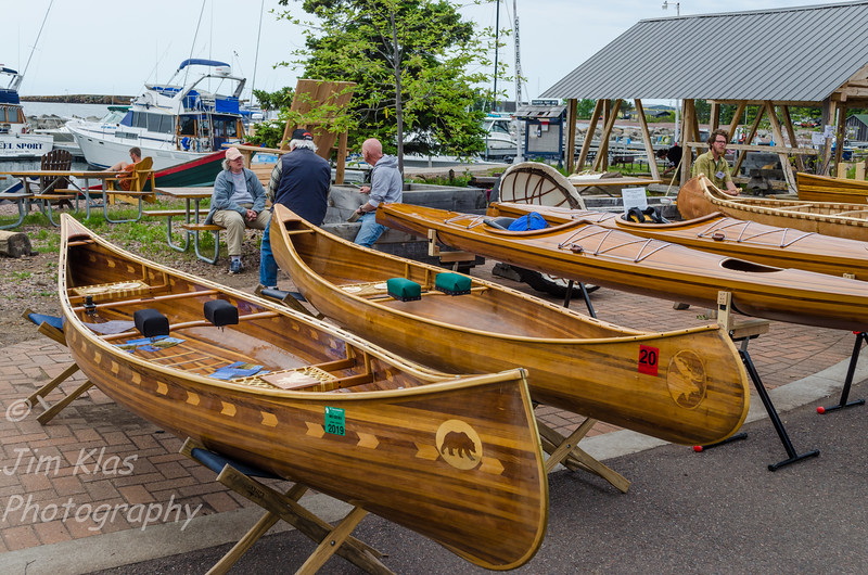 Wooden Boat Show & Summer Solstice Festival happened the same weekend as the Guzzi Rally.