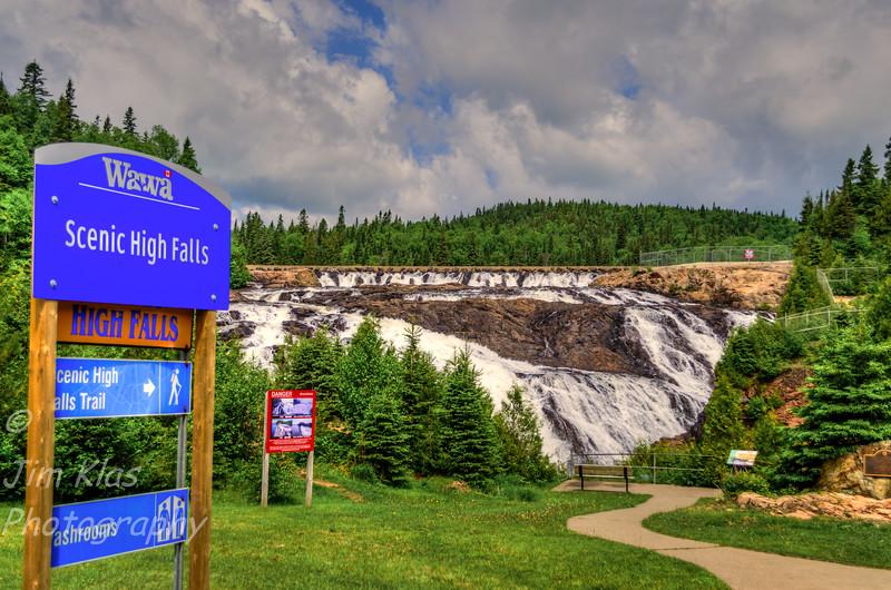 Wawa Scenic High Falls