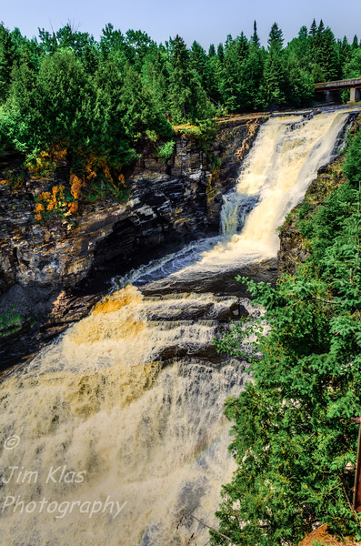 Kakabeka Falls have a drop of 130 ft