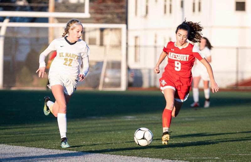 11 8 18 Amesbury at St Marys girls soccer 1