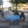 "This bench design deters homeless from sleeping in the plaza. The bright color brings out the vibrant Latin culture of the Mission District.   The 16th Street BART station was once a bleak, uninviting, and unsafe transportation hub of San Francisco's Mission District, but a 7-year planning process, community and public agency support, and TE funds transformed the station into the vibrant public plaza and community meeting place it is today. The groups participating in the planning process include BART, the Metropolitan Transportation Commission, the San Francisco County Transportation Authority, Mission Housing Development Corporation, Urban Ecology, and the Mission Community Council.   Today, the 16th Street BART Station Plaza is the realized vision of the community. Vibrant mosaics, sitting steps, colorful, artistic gates, benches, and the <a href=""http://www.micocosf.org/plaza16.php"">Plaza 16 Project</a>, an outdoor gallery in the plaza that displays work by local artists, makes the station a welcoming place to rendezvous with a friend or make a transit connection.   Two TE grants, in 2002 and 2005, amounting to a total of $2,996,000 leveraged $428,000 in local support."