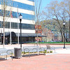 "A dozen benches, period lighting, and brick sidewalks were used in the design of the new park. The benches are designed to prevent loitering and sleeping with the center arm-rest.   Pack Square Park in Asheville, North Carolina is said to be the realized dream of philanthropist George Willis Pack who donated the plot of land to the city in 1901. Nearly a century later, a water leak under Pack Square stimulated discussion to recreate and redesign Pack Square and City-County Plaza into a new public space, which has become the centerpiece of Downtown Asheville. The resulting 6.5 acre park, which sits in front of Buncombe County Courthouse and Asheville City Hall, is comprised of <a href =""http://www.packsquarepark.org/index.php?option=com_content&task=view&id=27&Itemid=41"""">Pack Square</a>, <a href=""http://www.packsquarepark.org/index.php?option=com_content&task=view&id=26&Itemid=40"""">Reuter Terrace</a>, and <a href= ""http://www.packsquarepark.org/index.php?option=com_content&task=view&id=25&Itemid=39"""">Roger McGuire Green</a>, which is the location of Bascom Lamar Lundsford Stage. The park opened on September 25, 2009.  A $140,000 Federal TE grant, procured in 2002, funded the development of the park and streetscaping around Pack Square, contiguous to three major streets: College Street, Patten Avenue, and Biltmore Avenue (US 25). In addition to the Federal funding, Pack Square Park was made possible with generous contributions by private donors."