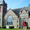 <b>The First United Methodist Church of Hightstown, built in 1898, was restored with the help of a $500,000 grant from the New Jersey Historic Trust. The congregation matched that grant with $1.5 million in donations.</b>  The Stockton Street Historic District Streetscape project is the result of a community-driven and historically-focused economic stimulus plan. Even before the recession, Hightstown Borough struggled to keep its local economy afloat. Suburban development patterns made it difficult for locally-owned businesses downtown to survive. Its industry had shut its doors, and the housing crisis only added to the number of abandoned properties scarring the borough. With traditional mechanisms of economic stimulus limited, Hightstown developed a master plan that focused on re-establishing the borough as a destination town for visitors, similar to when it was a thriving railroad hub. Restoring the town's historic culture and marketing its small town pride is a central theme of the plan. The Stockton Street Historic District Streetscape project is a direct implementation strategy of this plan.   The Stockton Street Historic District is located in the Borough of Hightstown (pop. 5,216) in Mercer County, New Jersey. Seventy-six historic resources, predominantly single family dwellings, a stone church, and a historic monument contribute to this 14.35-acre district. These buildings are historically significant with varying architectural styles including early Federal, high-style Victorian, and turn-of-the-century eclectic.    The project, which is scheduled to begin construction in August 2010, seeks to restore the district's sidewalks to an eclectic mix of brick and slate. In addition, a granite curb will be constructed throughout the district to help define its boundaries by creating a consistent and distinctive look. Construction will be sensitive to unearthing carriage steps and resetting them in place along the street to convey the culture of yesteryear for visitors to the District.  The project assures handicapped accessibility throughout the public pathways, as well as street trees, gardens, and landscaping the public space consistent with plantings appropriate during the historic period of significance.  Finally, ARRA funds will support the restoration of the Civil War Monument Park, the focal point of the District. The project was awarded $1.69 million of the $19.75 million ARRA funding allocated to the State of New Jersey. This represents the third largest award in the state.