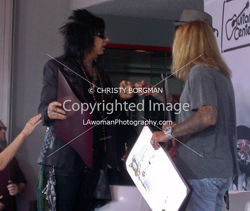 Nikki Sixx, Tommy Lee and Vince Neil
