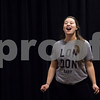 "Sam Buckner for Shaw Media.<br /> Sarah Morton opens up the rehersal by singing ""Another opening another show"" on Tuesday November 1, 2016."