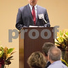 Sam Buckner for Shaw Media.<br /> Chairman and CEO of Ideal Industries gives the key note presentation at the DCEDC State of the County event on Wednesday November 2, 2016.