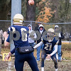 Sam Buckner for Shaw Media.<br /> Matthew Korb passes the ball to who ran the pass for a touchdown on Saturday November 2, 2019.