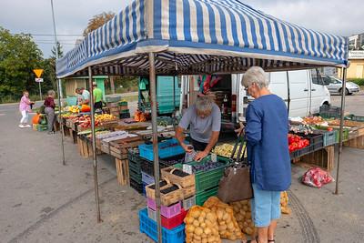Flea Market, Swietokrzyskie, Starachowice, Poland,