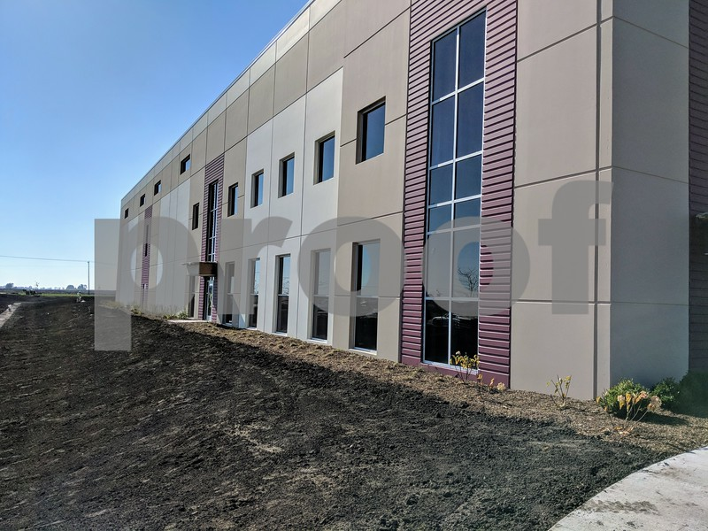 Kevin Solari – ksolari@shawmedia.com<br /> An exterior view of the building that will house 5 Stones and Ignatius Press. Construction is expected to be finished by the end of this year.