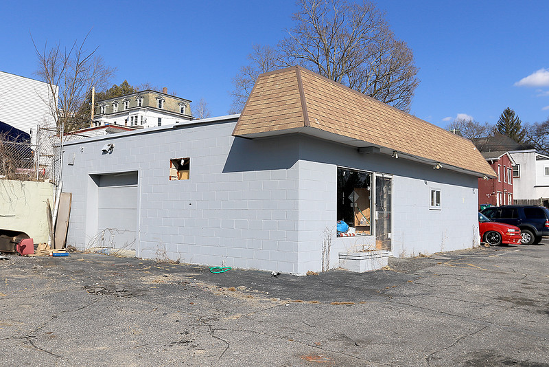 This building in gray at 1109 Main Street in Fitchburg is another proposed recreational retail pot shop by True Nature's Wellness Inc. SENTINEL & ENTERPRISE/JOHN LOVE