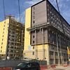 The Edge student apartment complex, under construction on East 18th Street between Euclid Avenue and Prospect Avenue.