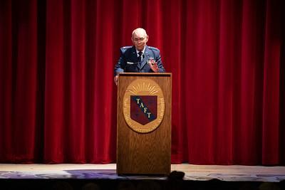 Lt. Col. James Greene Morning Meeting