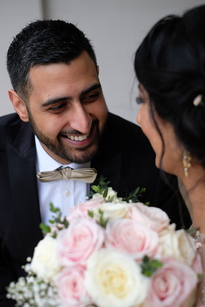 Civil Marriage of Pooja Notta to Gavinder Johal, Ilford, UK