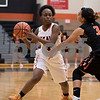 Sam Buckner for Shaw Media.<br /> Charlese Williams passes the ball in a game against Harlem on Tuesday November 15, 2016.