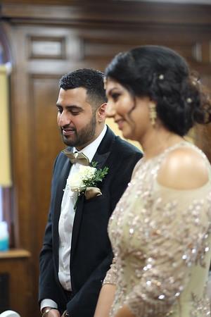 Civil Marriage of Pooja Notta to Gavinder Johal, Ilford, UK