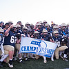 111619 GRAFTON- St. Bernard's poses for their 49-22 championship title win against Monty Tech at Grafton High School in Grafton on Saturday Nov. 16, 2019.  SENTINEL & ENTERPRISE JEFF PORTER