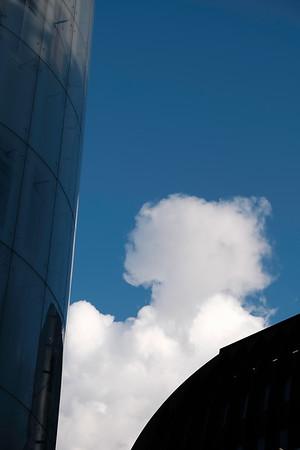 Dramatic clouds, London, United Kingdom