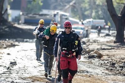 (1/12/18) Montecito Mudslides Day 4