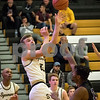 Sam Buckner for Shaw Media.<br /> Grayson Burns puts up a shot against Hampshire on Wednesday November 22, 2017.