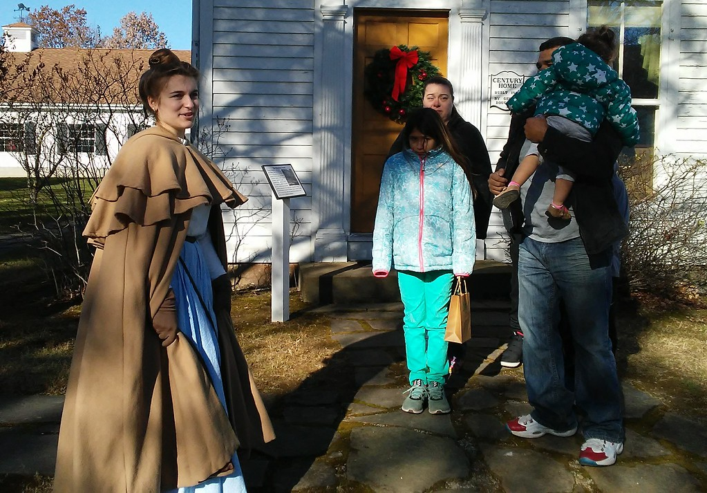 . Betsy Scott - The News-Herald <br> Visitors to Century Village in Burton Nov. 25 and 26 got to see how families of yesterday prepared for the Christmas season