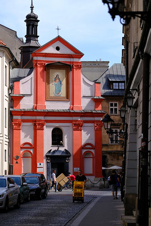 Church Of Sts. John the Baptist and John the Evangelist, Cracow, Poland