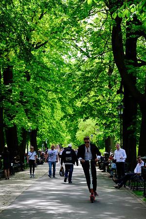 Planty, Cracow, Poland