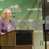 Sam Buckner for Shaw Media.<br /> Molly Talkington speaks at the Committee of the Whole meeting on Monday November 27, 2017.