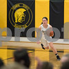 Sam Buckner for Shaw Media.<br /> Jacki Rapp takes the ball up the court after a rebound on Tuesday November 28, 2017.