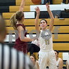 Sam Buckner for Shaw Media.<br /> Kate Majerus shoots and makes a three pointer on Tuesday November 28, 2017.