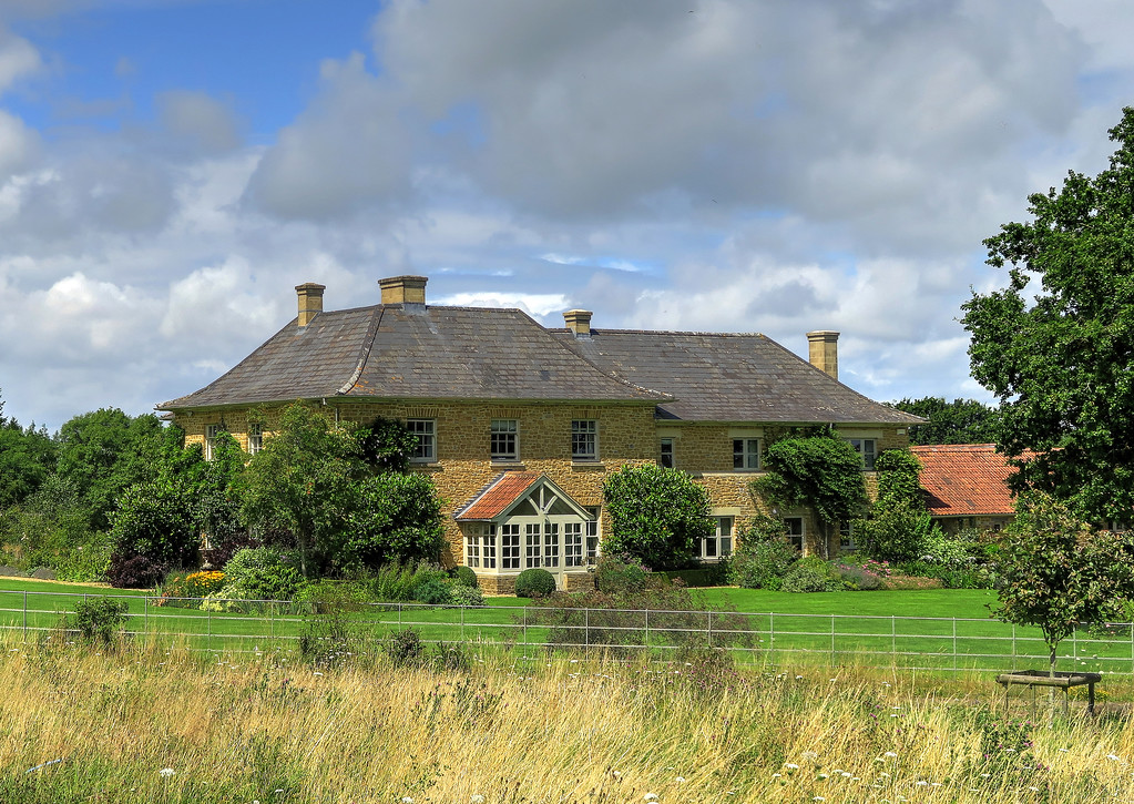 The atractice Wyke Farm house.