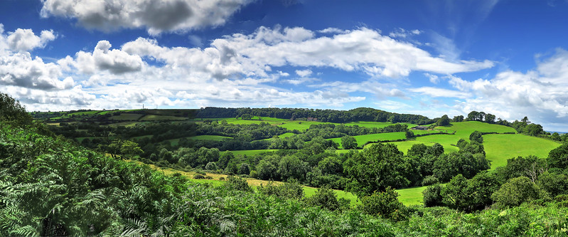 The view from Crook Hill.