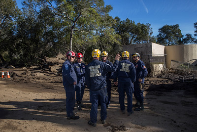 (1/13/18) Montecito Mudslides Day 5